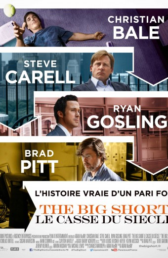 The Big Short - Mercredi 3 février à 19h30