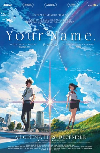 Your name - Mercredi 25 janvier à 19h30