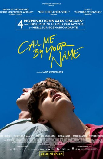 Call me by your name - mercredi 28 mars à 19h30