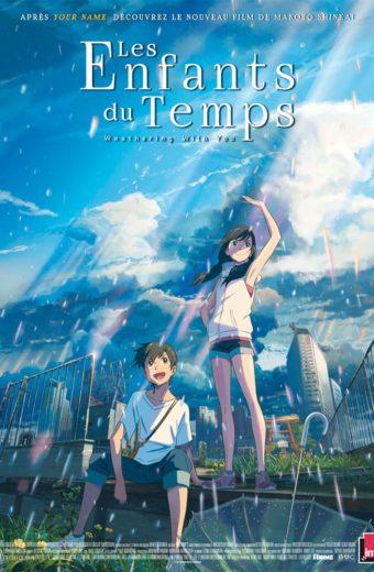 Les Enfants du Temps - Mercredi 19 février à 21h30 - Second film de la soirée spéciale animation japonaise