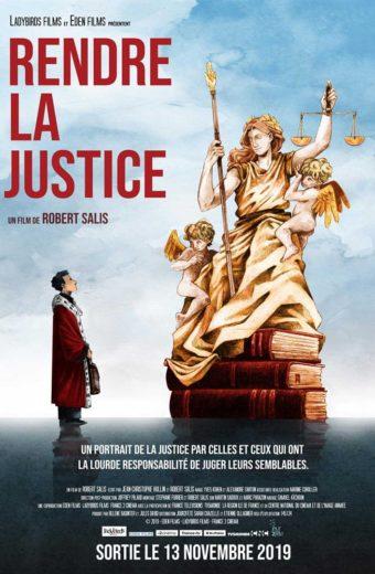 Rendre la Justice - Projection-discussion en présence de magistrats - mercredi 5 février à 19h30
